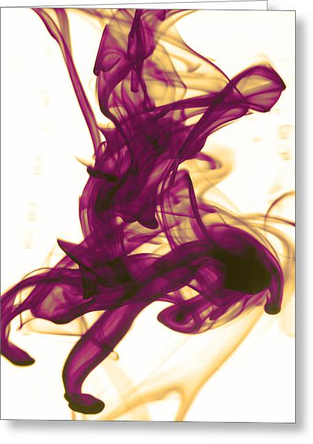 Divine Serenity Greeting Card by Sumit Mehndiratta