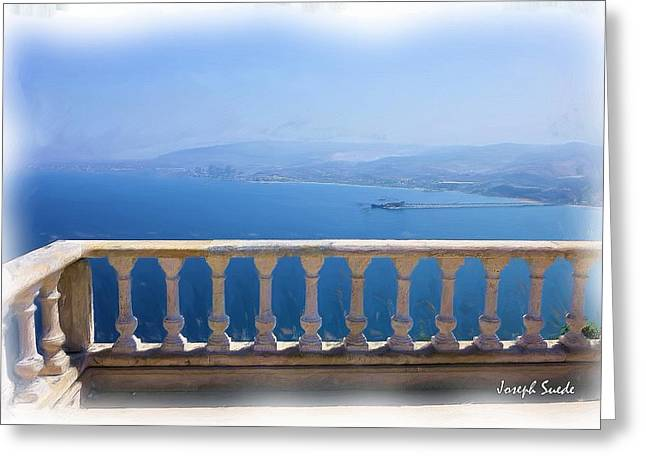 Greeting Card featuring the photograph Do-00492 Saidet El-nourieh by Digital Oil