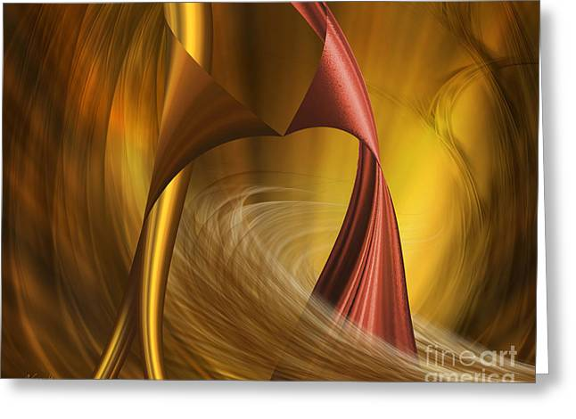 Greeting Card featuring the digital art Do You Wanna Dance by Johnny Hildingsson