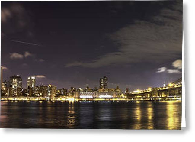 Doble Puente Greeting Card by Alex Ching