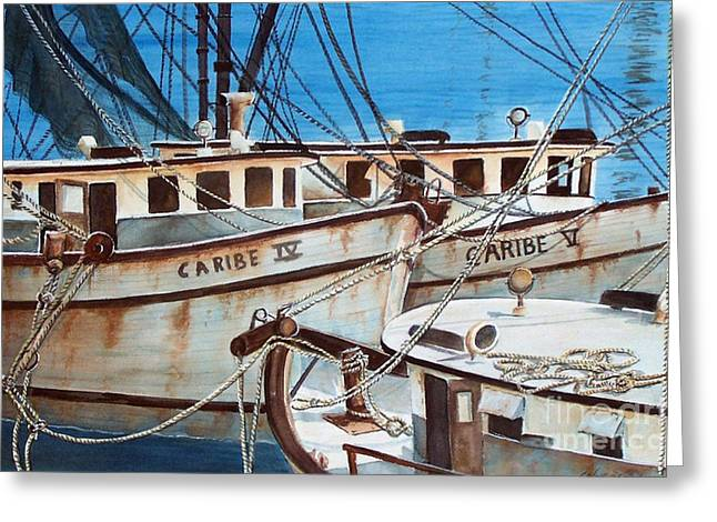 Dockside    Sold Prints Available Greeting Card
