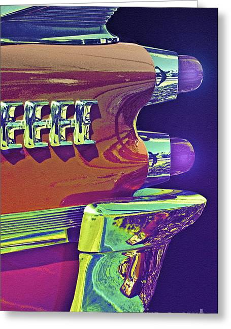 Dodge Custom Royal Greeting Card by Gwyn Newcombe