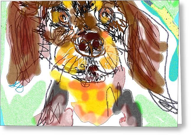 Dog 5 Greeting Card
