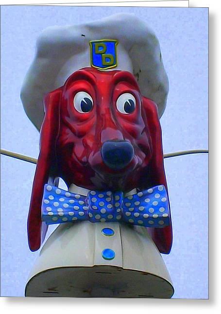 Doggie Diner Greeting Card