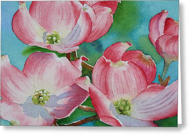 Dogwood Afternoon Greeting Card
