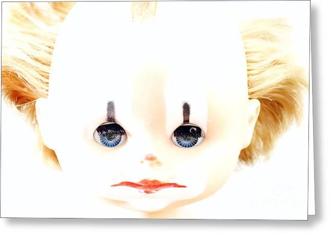 Dolly - Clown Greeting Card