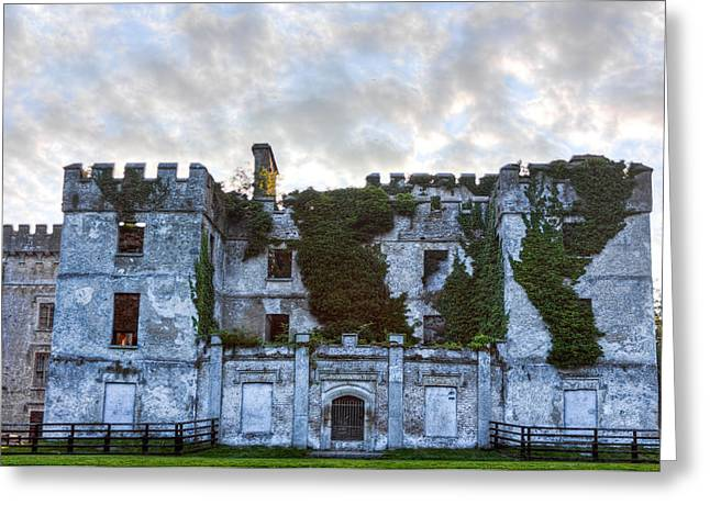 Donadea Castle Hdr Greeting Card