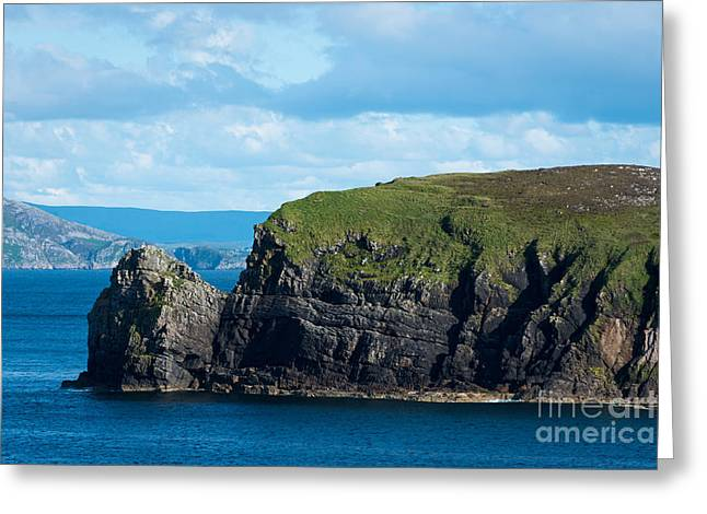 Donegal Seascape Greeting Card by Andrew  Michael