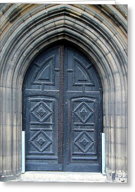 Door And Arches Greeting Card