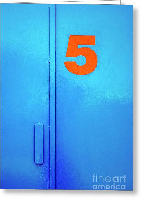 Door Five Greeting Card