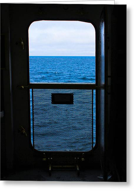 Door To Nowhere Greeting Card by Tim  Telep