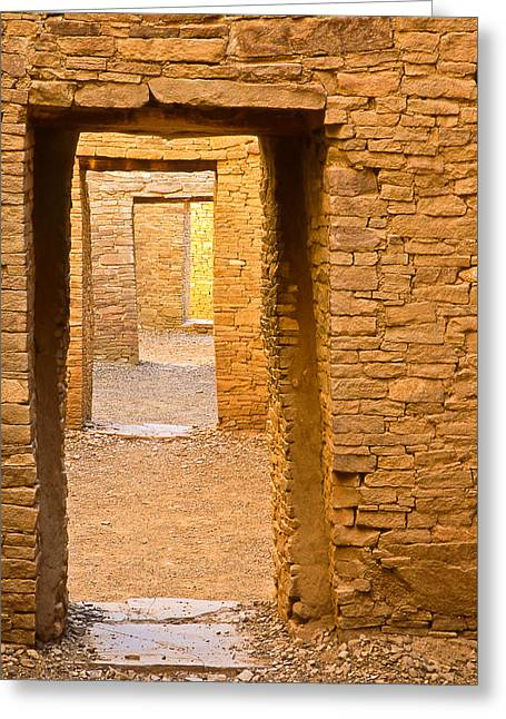Doorway Chaco Canyon Greeting Card