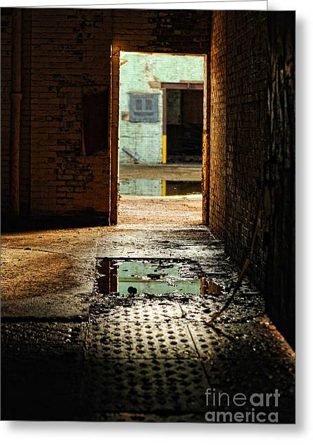 Doorway Greeting Card by HD Connelly