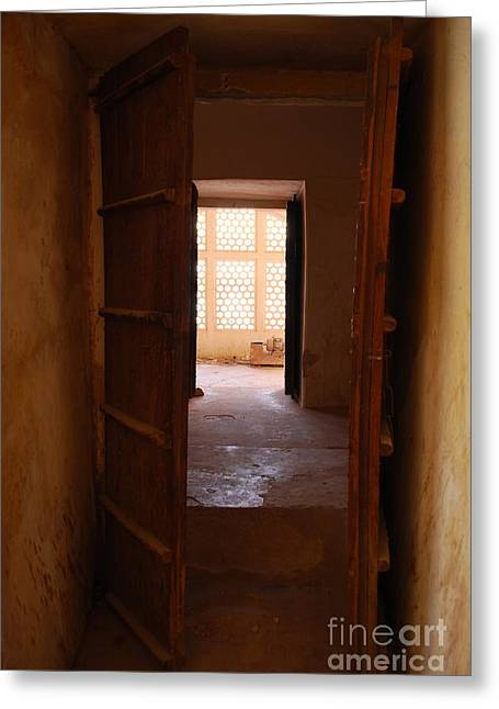 Doorway Greeting Card by Jen Bodendorfer