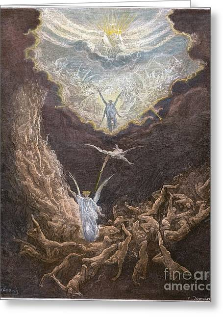 DorÉ: Last Judgment Greeting Card by Granger
