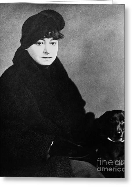 Dorothy Parker (1893-1967) Greeting Card by Granger
