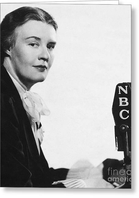 Dorothy Thompson Greeting Card by Granger