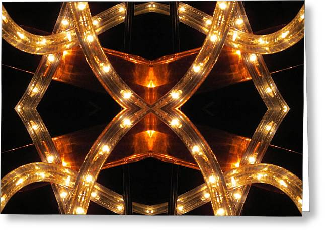 Double Diamond Greeting Card by  Andrew  Thomas