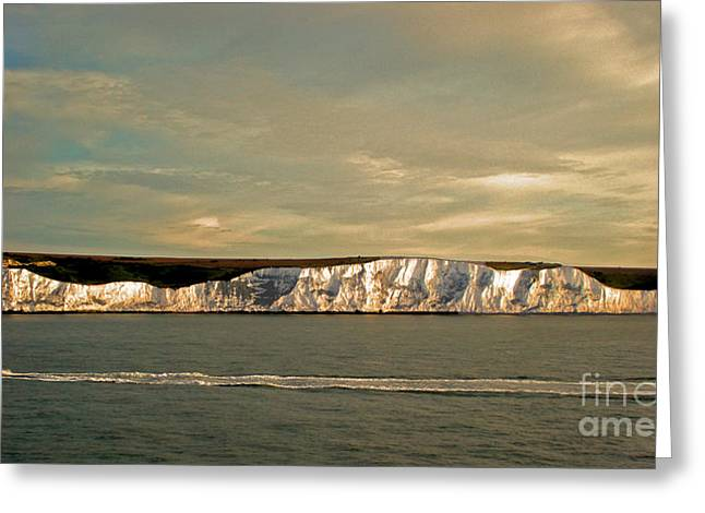 Greeting Card featuring the photograph Dover by Linsey Williams