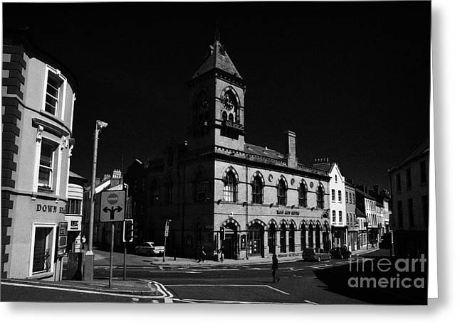 Down Arts Centre Center Old Town Hall Downpatrick County Down Ireland Greeting Card by Joe Fox