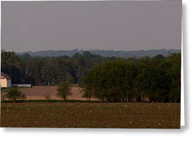 Greeting Card featuring the photograph Down On The Farm by John Crothers
