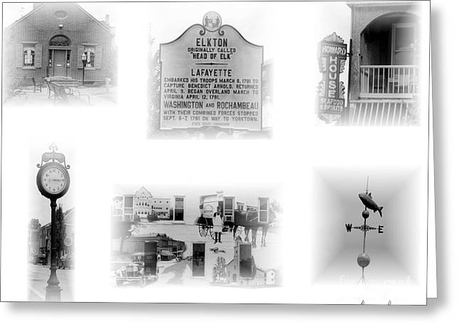 Downtown Elkton Greeting Card