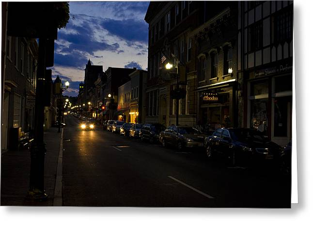 Downtown Staunton Virginia Zynodoa  Greeting Card