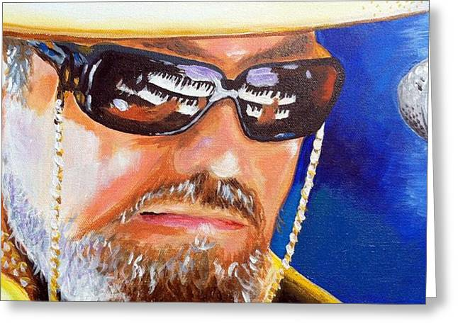 Dr John Greeting Card by Terry J Marks Sr