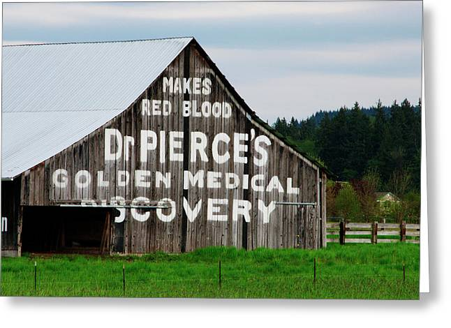 Dr. Pierce Barn 110514.98.1 Greeting Card