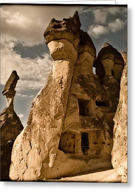 Pasabag Valley, Turkey - Dragon Rock Greeting Card