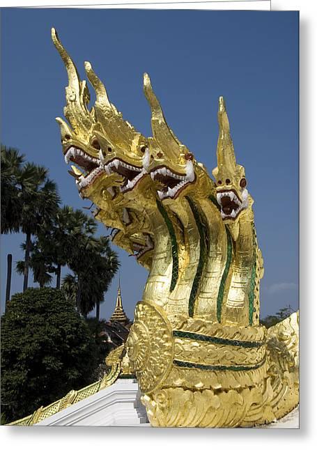 Dragon Sculptures Greeting Card