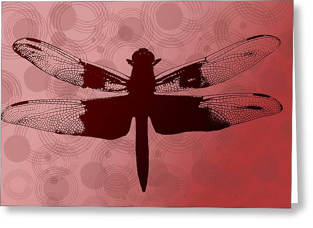 Dragonfly Greeting Card by Lauren Radke