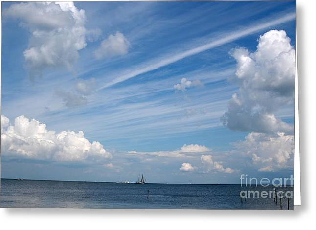 Greeting Card featuring the photograph Drama In The Sky by Vilas Malankar