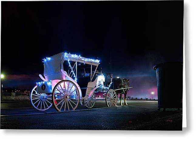 Dream Carriage Greeting Card