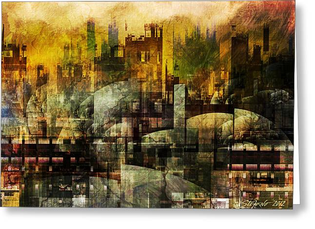 Dream In A Dream II Greeting Card by Stefano Popovski