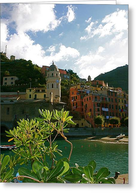 Dream Of Vernazza Greeting Card by  K Scott Williamson