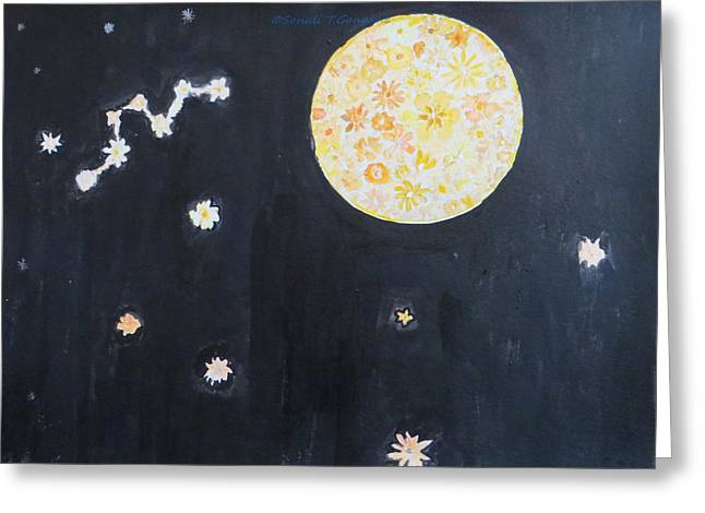 Greeting Card featuring the painting Dream by Sonali Gangane