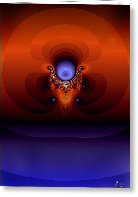 Dreamface Greeting Card by Helmut Rottler