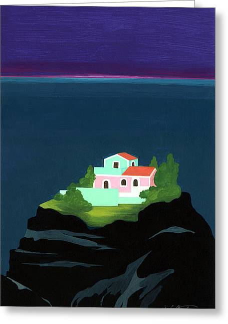 Dreaming Of Sicily Greeting Card by Isabelle Tanner