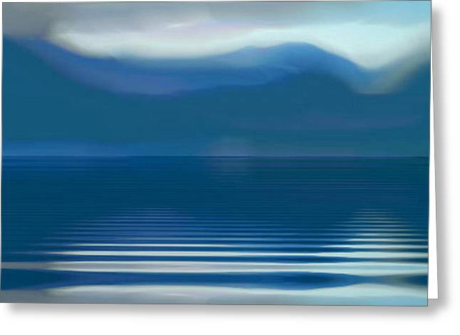 Dreams Of The Lakes Greeting Card