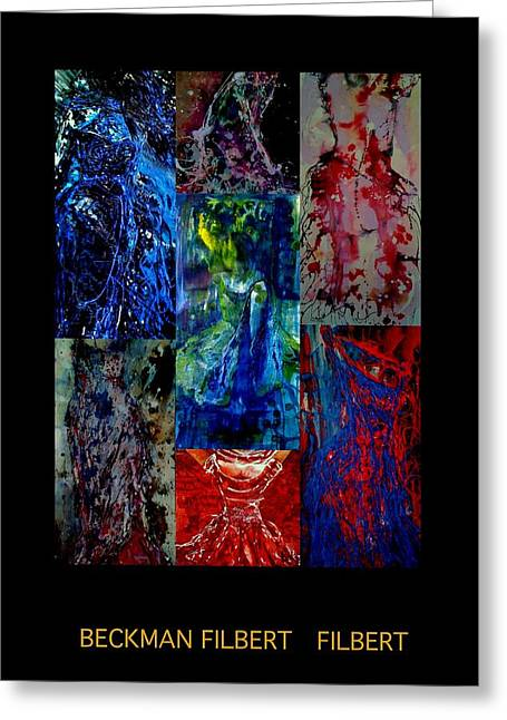 Dress Series Cover Greeting Card