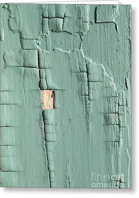 Dried Paint Texture Greeting Card