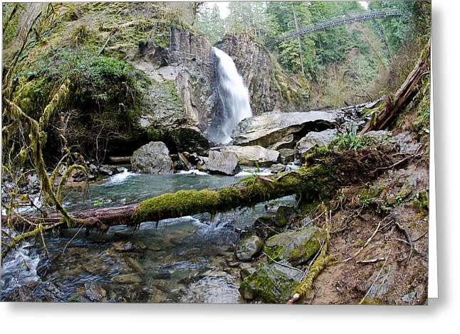 Drift Creek Falls Greeting Card