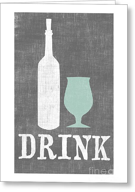 Drink Greeting Card