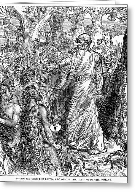 Druids Greeting Card by Granger
