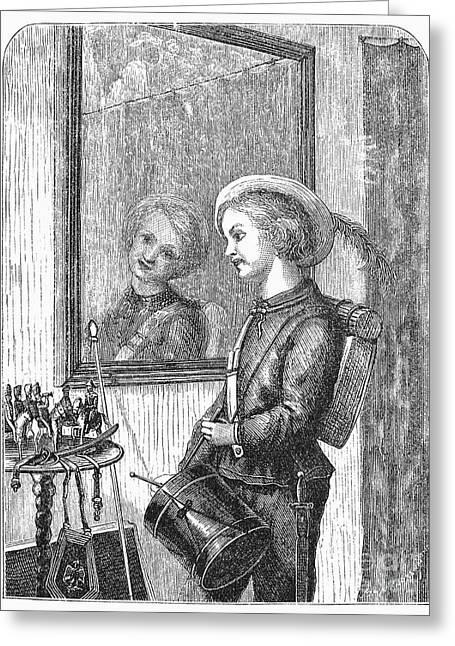 Drummer Boy, 1873 Greeting Card by Granger