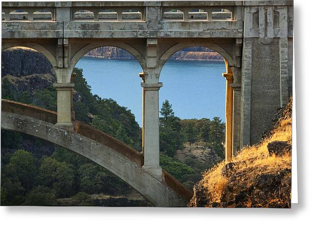 Dry Canyon Bridge Greeting Card