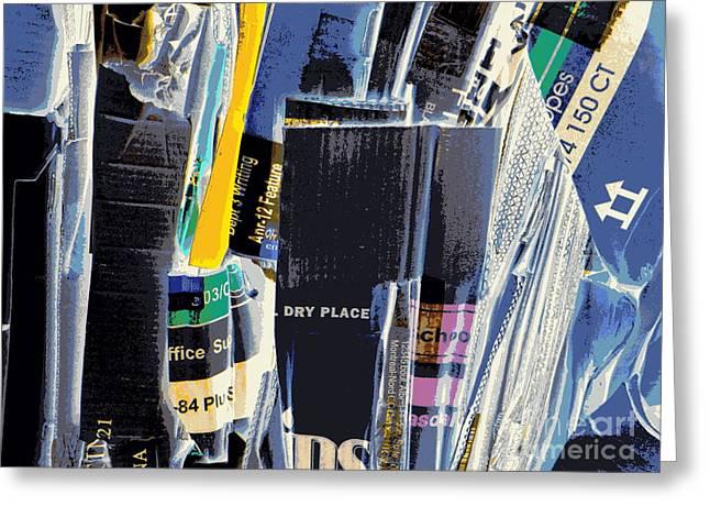 Dry Storage Greeting Card by Joe Jake Pratt