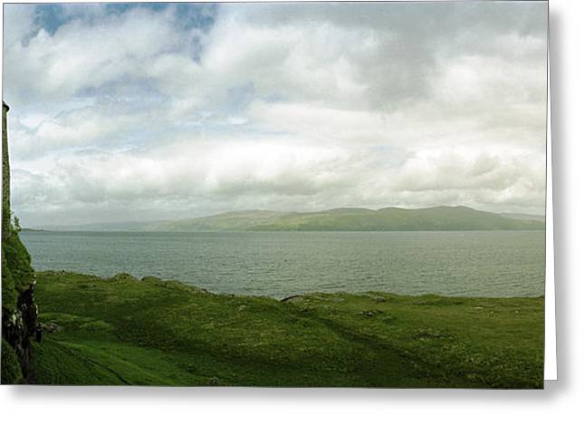 Duart Castle And The Lorn Of Mull Greeting Card