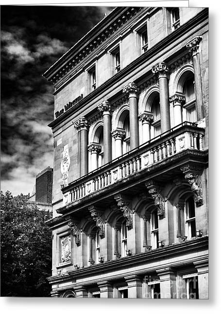 Dublin Architecture Greeting Card by John Rizzuto